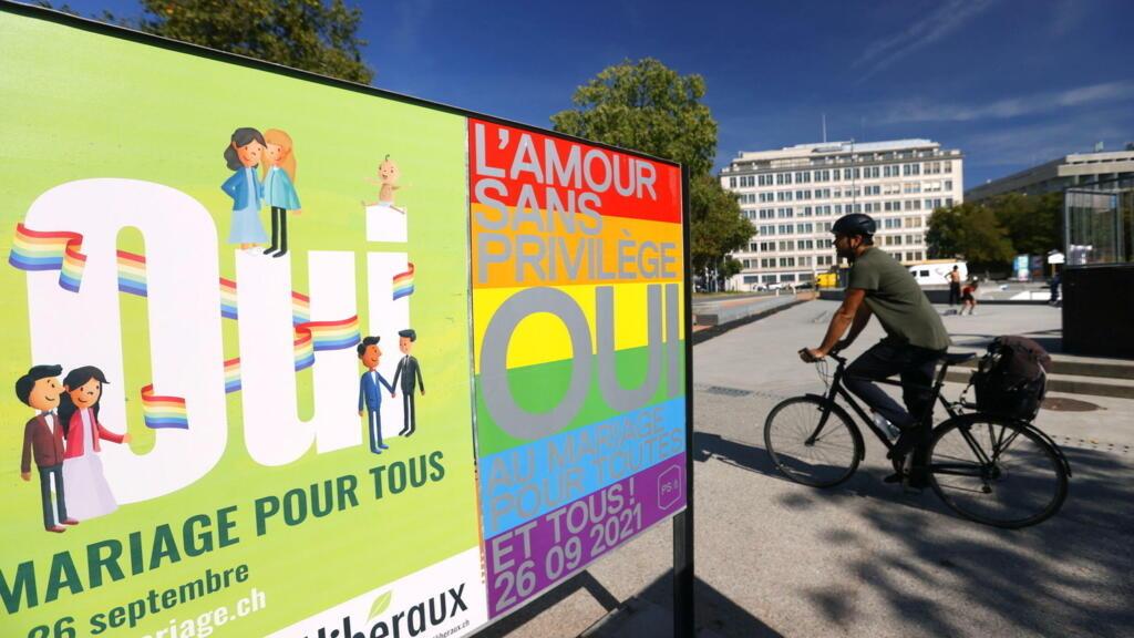 Les Suisses votent pour l'ouverture du mariage aux couples homosexuels