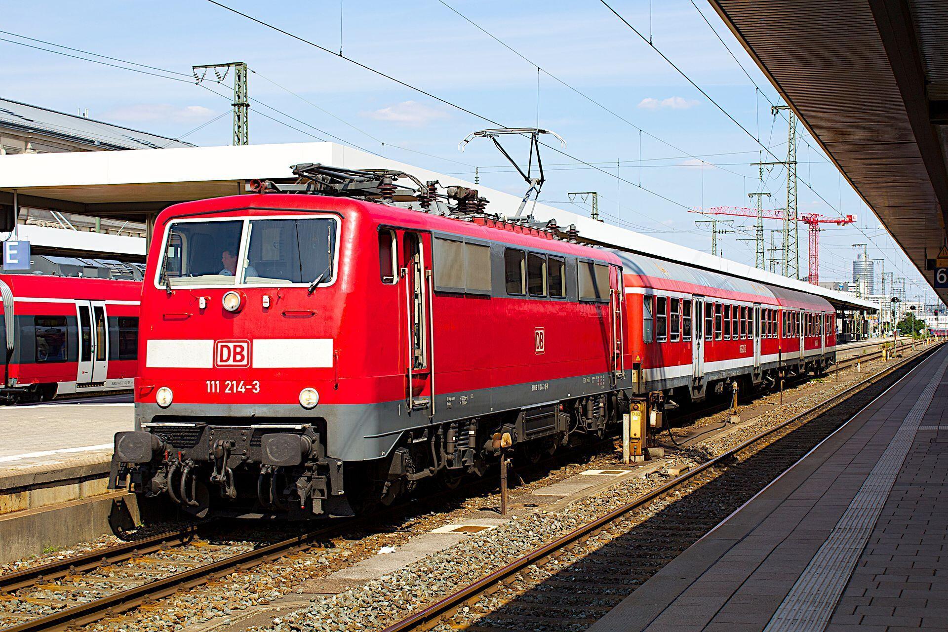 Train de la Deutsch Bahn.