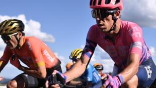Rigoberto Uran lors de la 12e étape du Tour de France, le 10 septembre.
