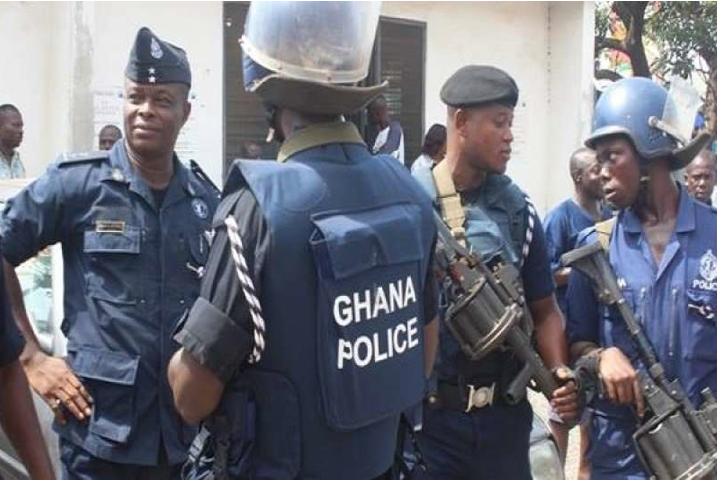 'Yan sandan Ghana.