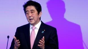 Le Premier ministre du Japon, Shinzo Abe, à Tokyo, le 19 janvier 2014.