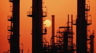 Une raffinerie de pétrole, en Arabie saoudite.