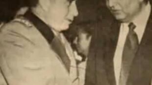 Augusto Pinochet y Agustí Edwards.