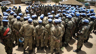 The UN, which has deployed over 20,000 peacekeepers in Darfur, in concerned about NGOs leaving the region