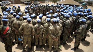 维和部队在苏丹达尔富尔