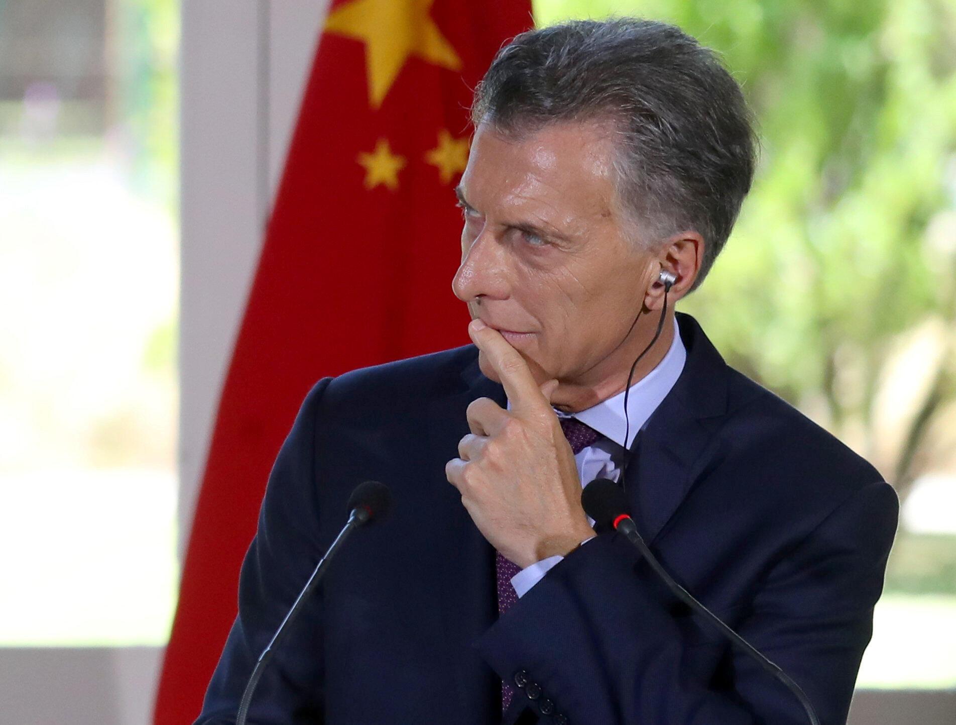 O presidente argentino Maurício Macri