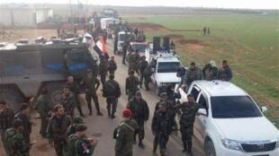 Milícia curda pediu ajuda ao exército sírio contra a Turquia.