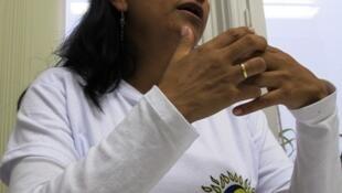 La dirigente campesina colombiana Marylén Serna analizó en nuestros estudios la situación colombiana