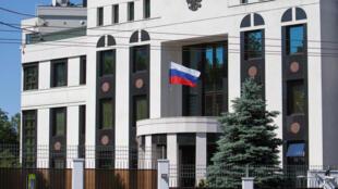 L'ambassade de Russie à Chisinau, Moldavie.