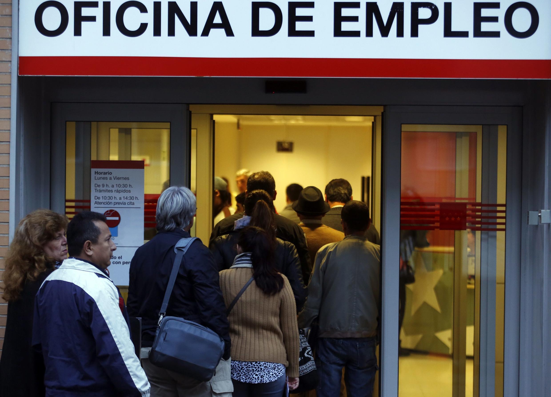 A Espanha tem a segunda maior taxa de desemprego da Europa.