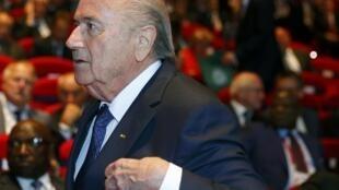 Shugaban FIFA Joseph Blatter