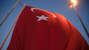 Les partisans d'Erdogan sur la place Taksim, le 17 juillet 2016.