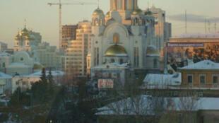 Une vue de la ville russe d'Ekaterinbourg.