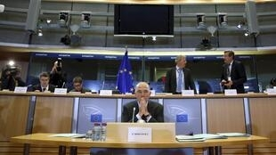 Pierre Moscovici faces questions on his role as European Union economy commissioner