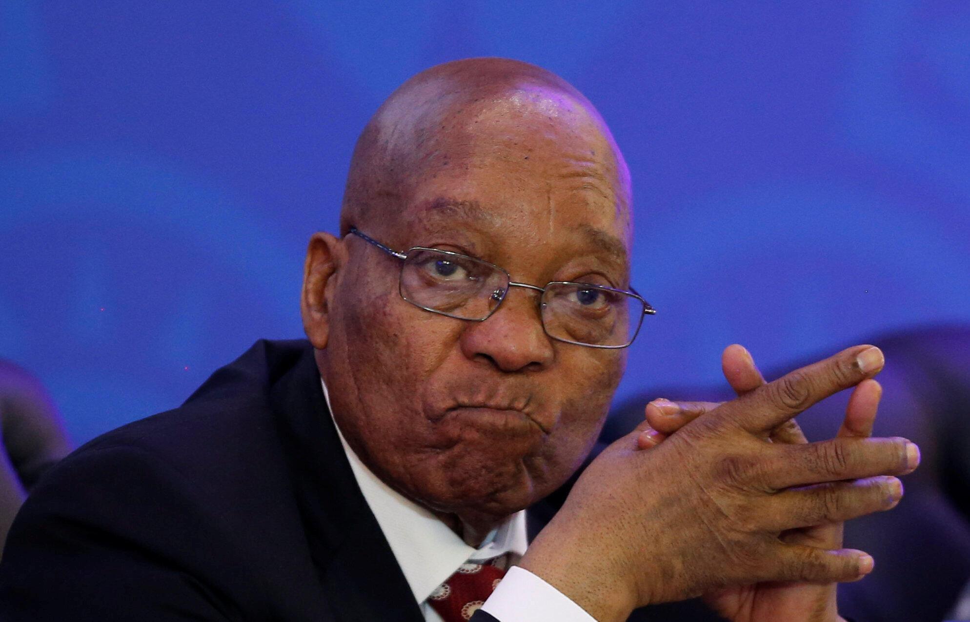 Rais wa Afrika Kusini na mkuu wa chama cha ANC Jacob Zuma
