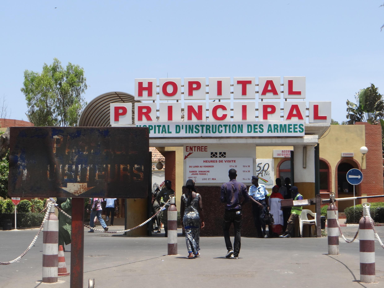 L'Hopital principal de Dakar.