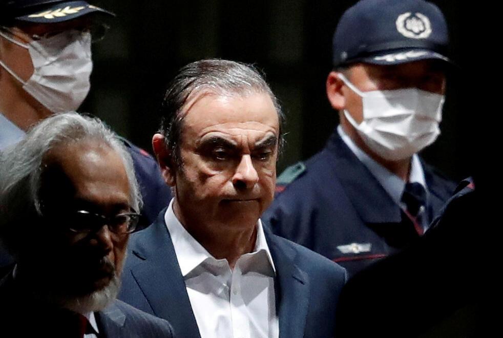 Carlos Goshn était en assigné à résidence au Japon depuis avril dernier avant de s'envoler pour le Liban.