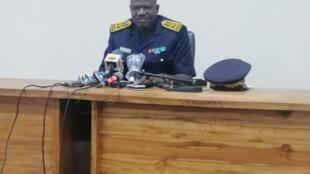 Yao Ekpaoul, directeur général de la police nationale du Togo