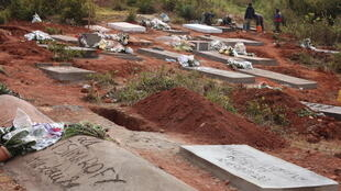 Le cimetière d'Anjanahary, à Antananarivo, Madagascar. (Image d'illustration)