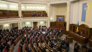 Зал заседаний Верховной Рады Украины