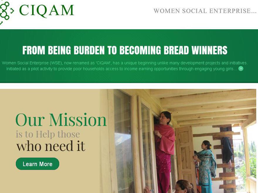 L'association Women Social Enterprise forme les Pakistanaises à la menuiserie.