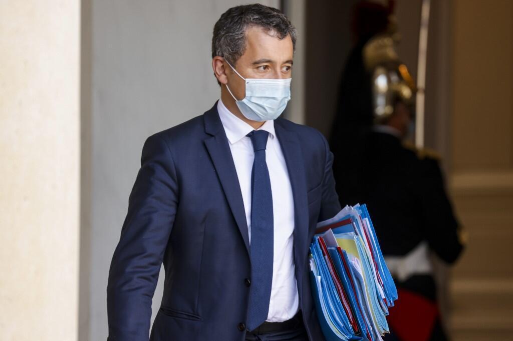 French Interior Minister Gerald Darmanin