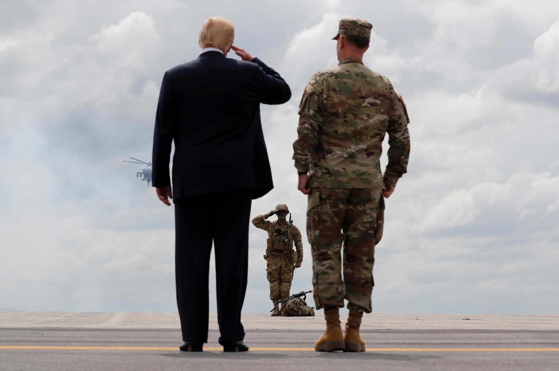 Orçamento estudo pela Paz USA-TRUMP