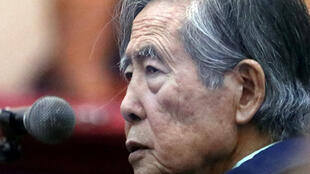 Alberto Fujimori, el pasado 15 de marzo 2018 en Callao, cerca de Lima.