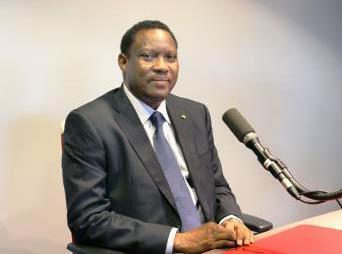 Hama Amadou, ancien président de l'Assemblée nationale, est candidat à la présidentielle de février 2016.