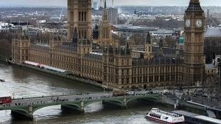Le Parlement de Westminster.