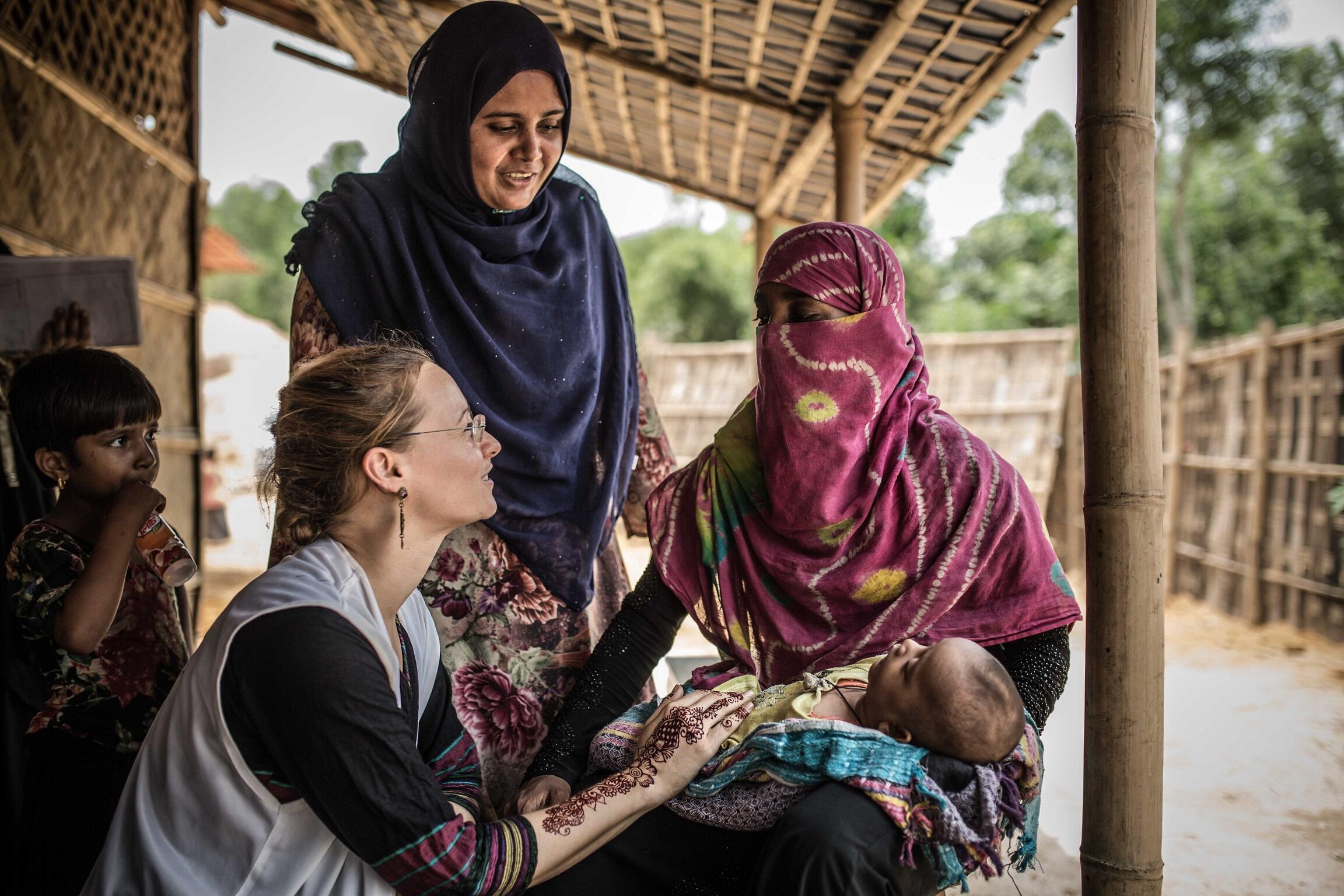 Les Rohingyas continuent de vivre dans des conditions déplorables dans des camps de réfugiés.