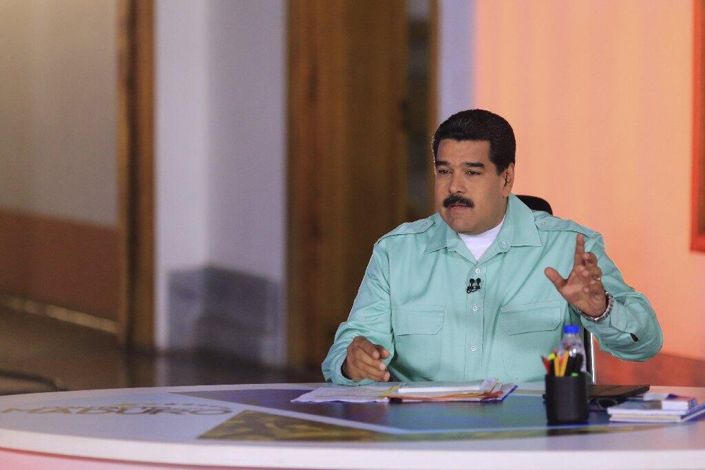 El presidente de Venezuela, Nicolás Maduro. Foto del 4 de abril de 2015