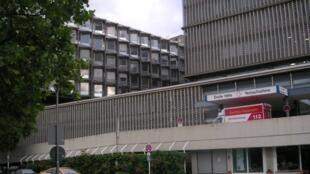 Берлин. Госпиталь имени Бенджамина Франклина