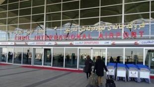 فرودگاه بینالمللی اربیل کردستان عراق
