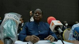 Henri Konan Bédié, le 20 septembre 2020, à Abidjan. (Image d'illustration)