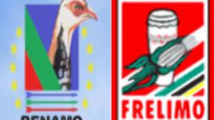 Logotipos Renamo e Frelimo