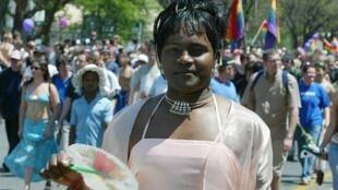 La Gay Pride annuelle d'Afrique du Sud à Johannesbourg,