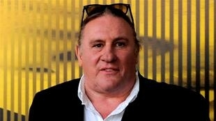 French actor Gérard Depardieu