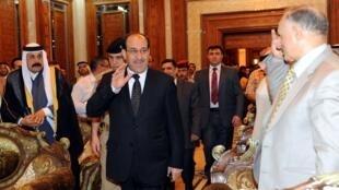 Le Premier ministre irakien Nouri al-Maliki, le 12 avril 2010.