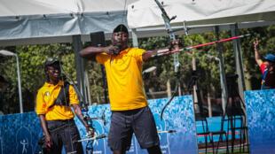L'archer tchadien Israel Madaye.