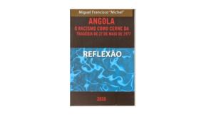 """Capa do livro """"Reflexão: Racismo como cerne da Tragédia do 27 de Maio"""" de Miguel Francisco"""