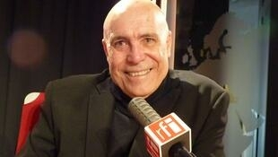 El escritor cubano Jorge Luis Camacho en RFI