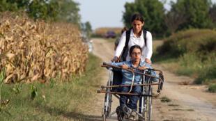 Nujeen Mustafa témoignait sur la place des handicapés dans le conflit en Syrie, le mercredi 24 avril 2019 au Conseil de sécurité de l'ONU. En 2015, elle était sur la route vers l'Europe pour échapper au conflit.