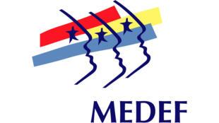 Logótipo do MEDEF - Movimento de Empresas de França