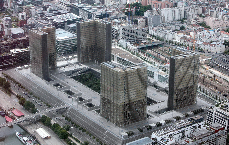 La Biblioteca Nacional de Francia, en París.