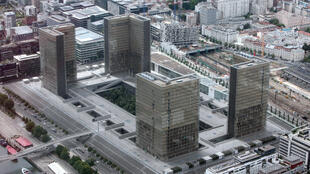 La Bibliothèque nationale de France, à Paris.