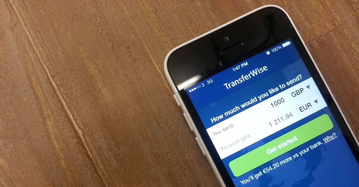 Transferwise permite o envio de dinheiro para o exterior pela internet, com taxas mais baixas que os bancos.
