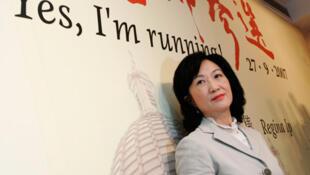 葉劉淑儀2007年宣布參選立法會議員。