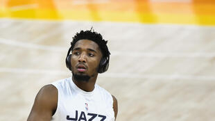 Utah Jazz star Donovan Mitchell says he's ready to resume flying with the NBA team after being rocked by an emergency on a charter flight to Memphis