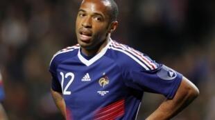 Le Français Thierry Henry.
